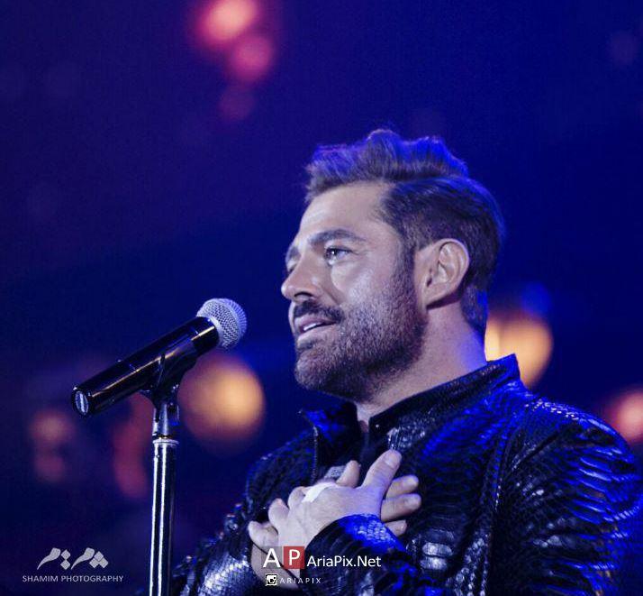 عکسهای کنسرت محمدرضا گلزار