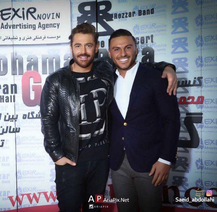 آرمین زارعی 2afm در کنسرت محمدرضا گلزار