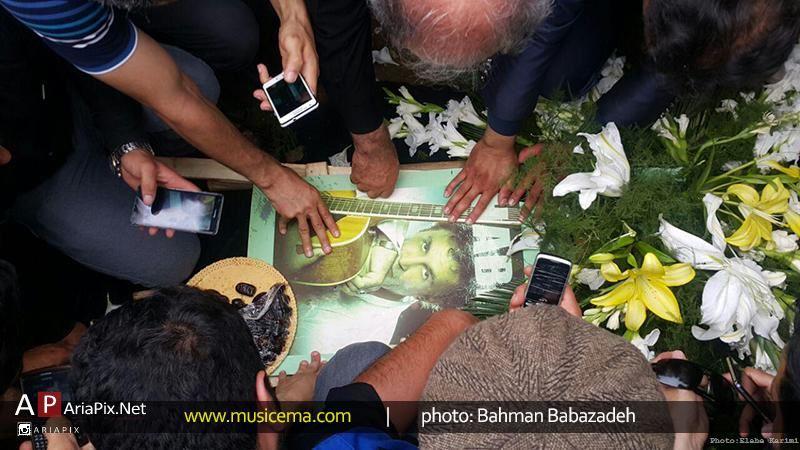 مراسم تشییع جنازه حبیب