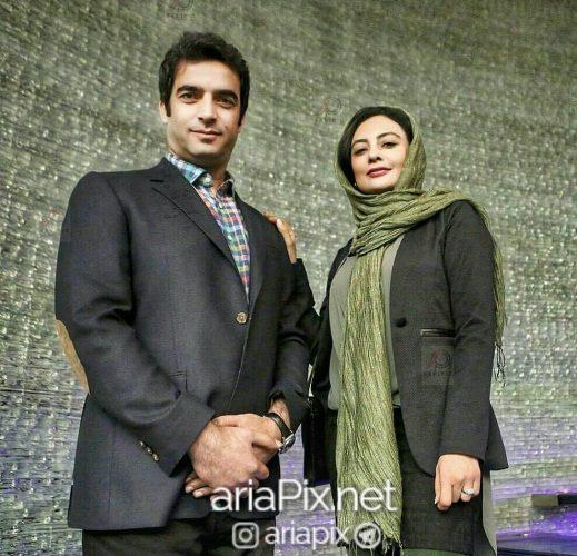 عکس منوچهر هادی و همسرش