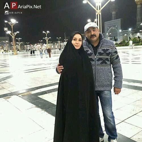 حدث فولادوند و همسرش رامبد شکرابی در مشهد