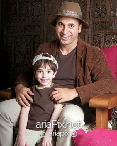 حمید فرخ نژاد و پسرش