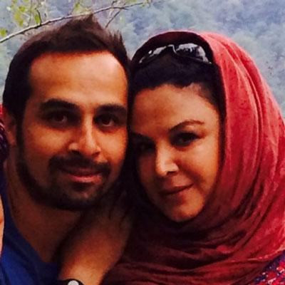 عکس شهره سلطانی و همسرش