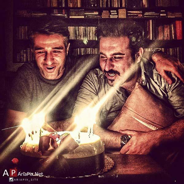 جشن تولد مشترک پژمان جشمیدی و محسن کیایی