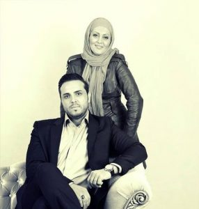 پدرام کریمی و همسر سابقش ,یاسمن شاه حسینی و همسرش