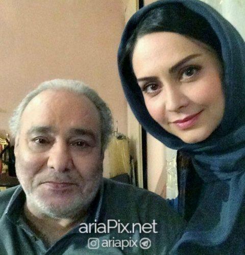 محمد کاسبی و همسرش