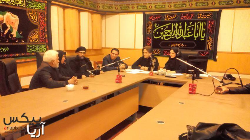خانواده مرتضی پاشایی در رادیو جوان