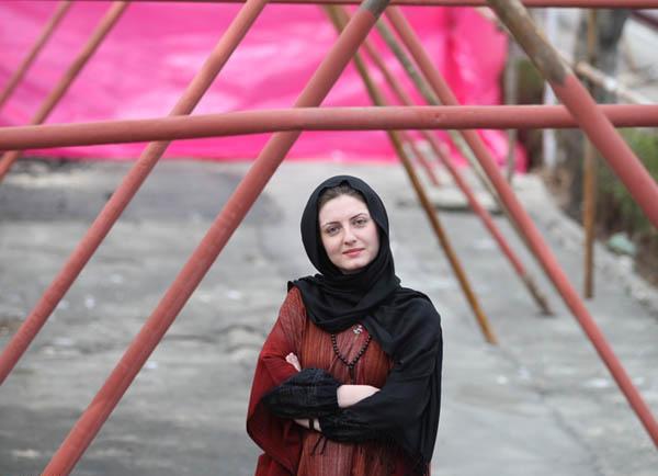 خزر معصومی عکس جدید از خزر معصومی بازیگر زن ایرانی