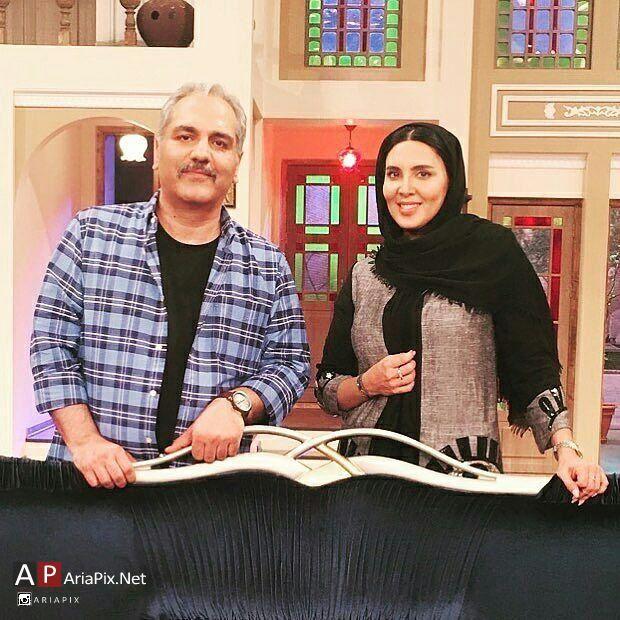 لیلا بلوکات و مهران مدیری