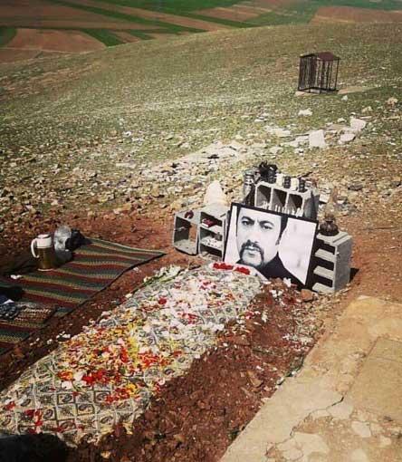 قبر عارف لرستانی