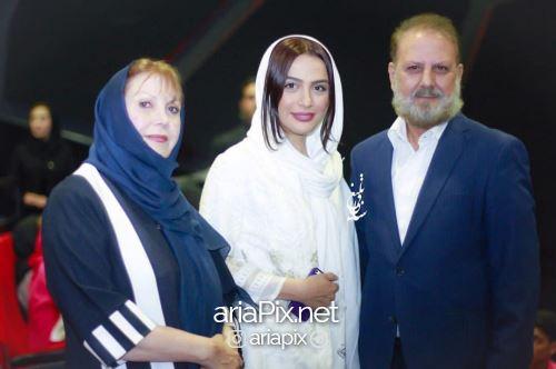 عکس مارال فرجاد و پدرش جلیل فرجاد و مادرش