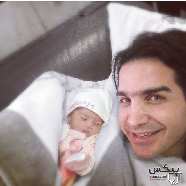 محسن یگانه و فرزندش, محسن یگانه و دخترش, محسن یگانه پدر