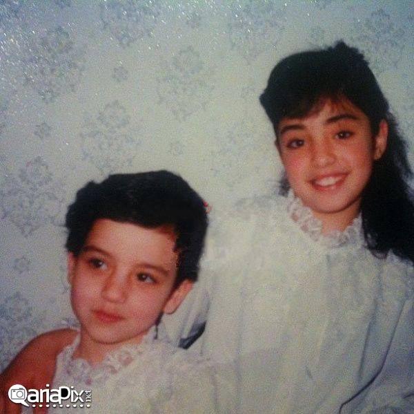 بچگی نرگس محمدی,کودکی نرگس محمدی بازیگر زن ایرانی