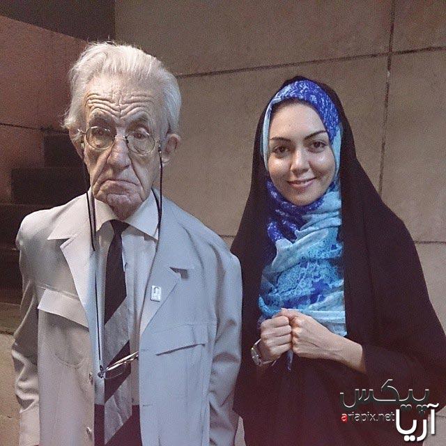آزاده نامداری و ادشیر کاظمی پیرترین بازیگر مرد ایرانی