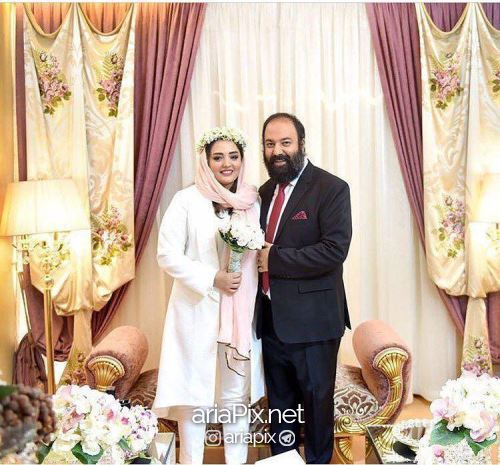 عروسی نرگس محمدی و علی اوجی