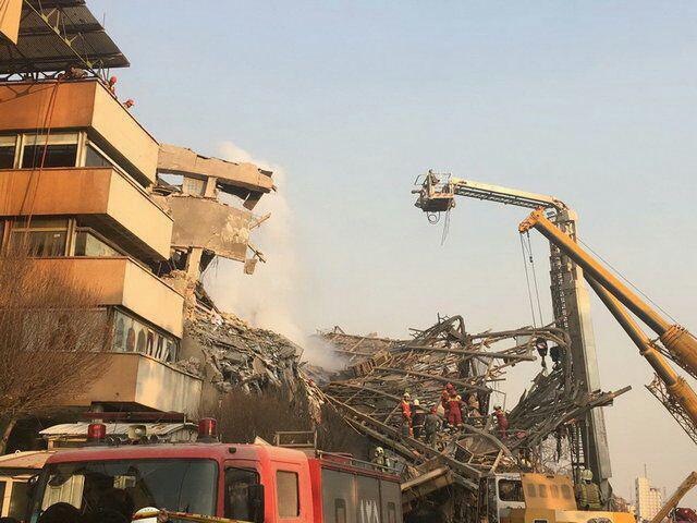 آمار تلفات و کشته شدگان آتش سوزی ساختمان پلاسکو