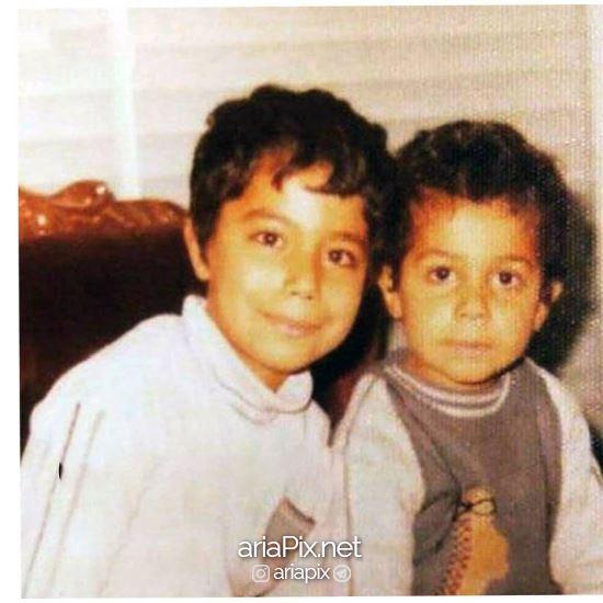 دوران کودکی جواد رضویان در کنار برادرش