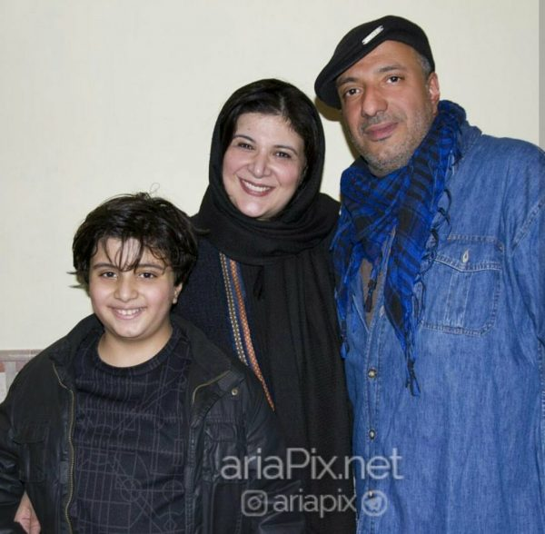 ریما رامین فر و امیر جعفری و پسرشان