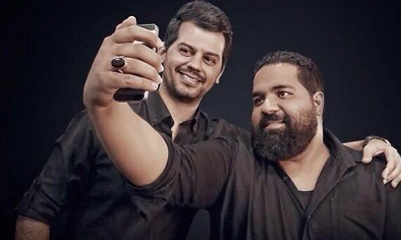 عکس شهاب رمضان و رضا صادقی / خواننده گان