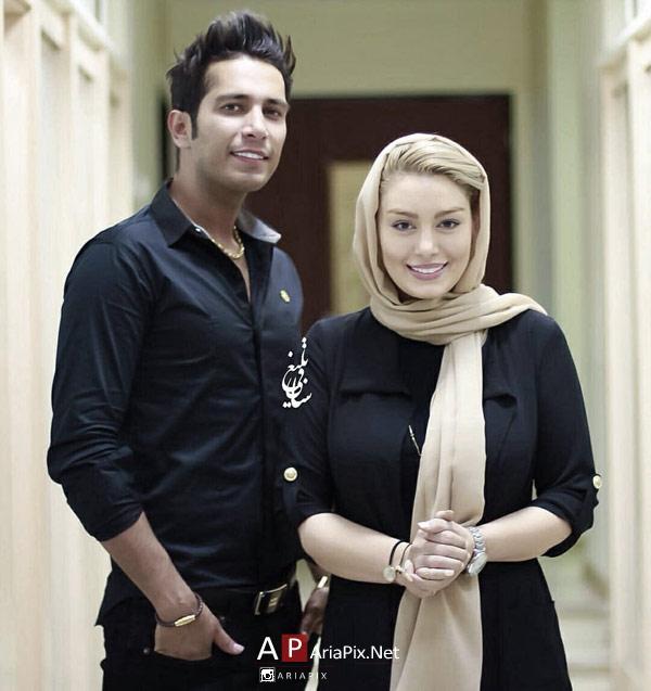 سحر قریشی و همسرش امید علومی
