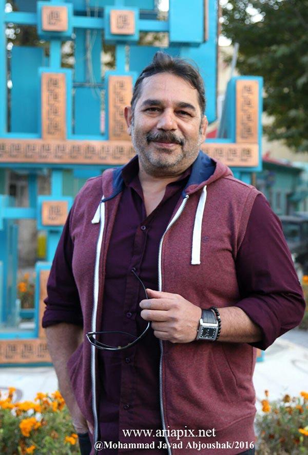 داریوش سلیمی در پشت صحنه سریال لبخند رخساره در مشهد