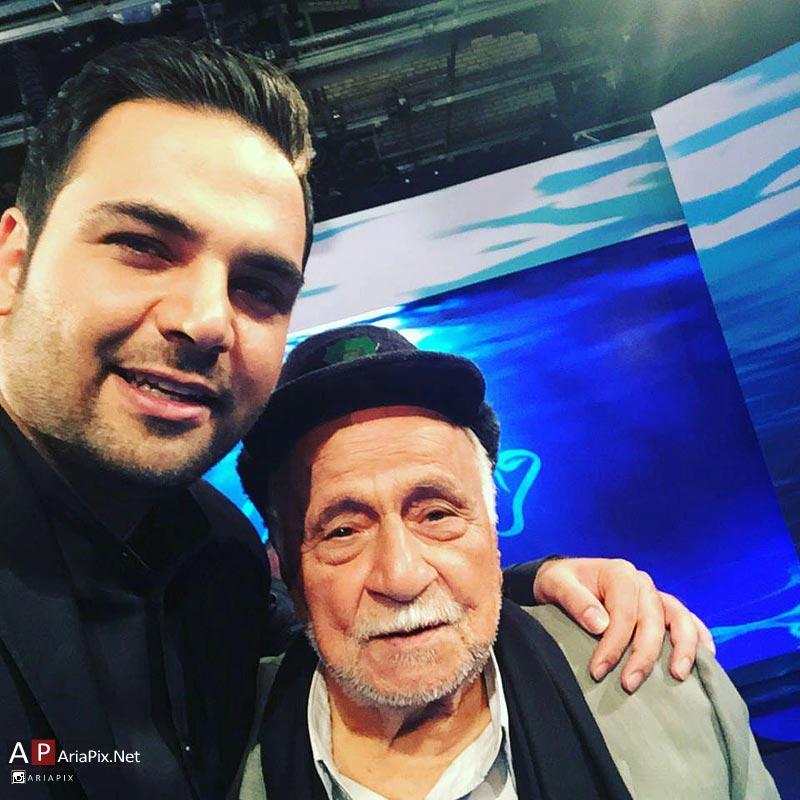 سلفی احسان علیخانی با حاج محمود