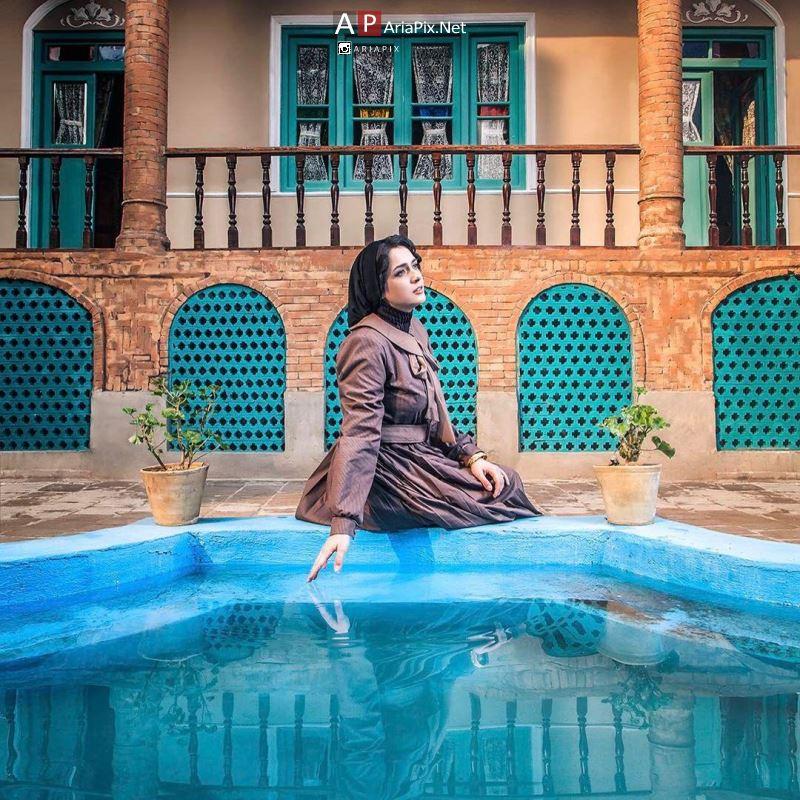 عکس ترانه علیدوستی در دوم شهرزاد