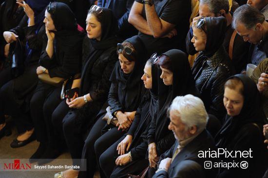 بازیگران زن در تشییع عارف لرستانی