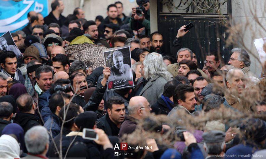 تشییع جنازه حسن جوهرچی