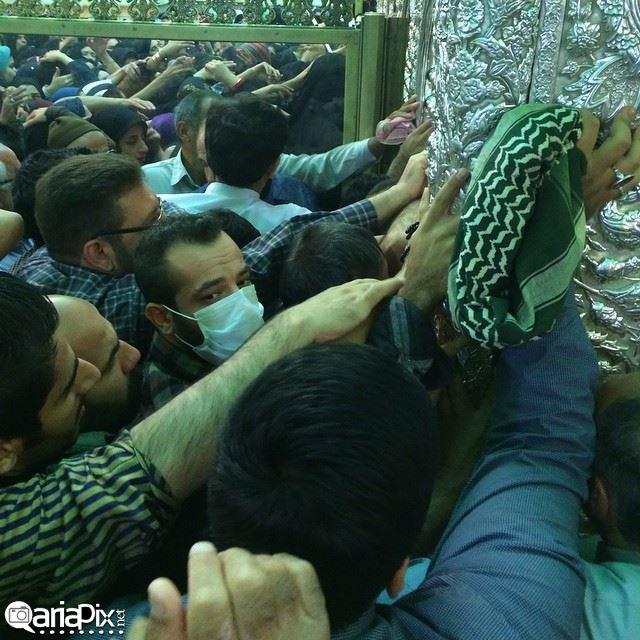 عکس امیر تتلو در مشهد در ولادت امام رضا شهریور 93