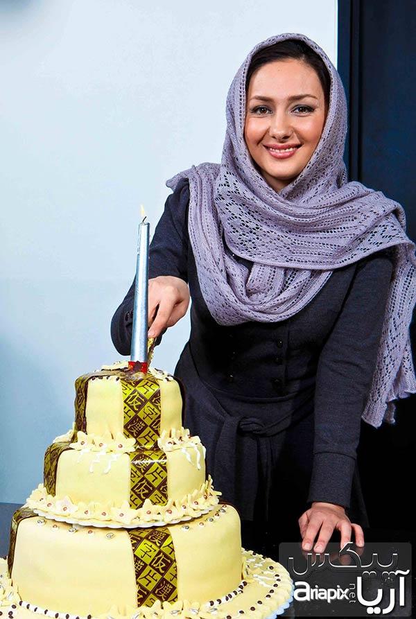 عکس از جشن تولد 35 سالگی هانیه توسلی بازیگر سینما و تلویزیون