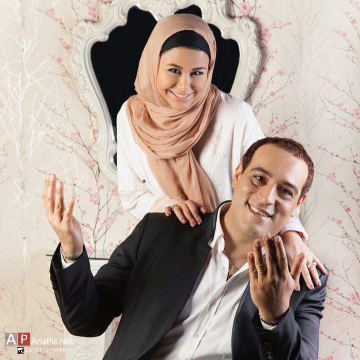یاسمینا باهر و همسرش, یاسمینا باهر و شوهرش امیریل ارجمند