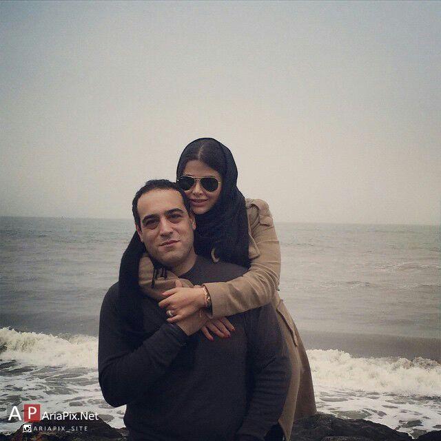 یاسمینا باهر و همسرش امیریل ارجمند