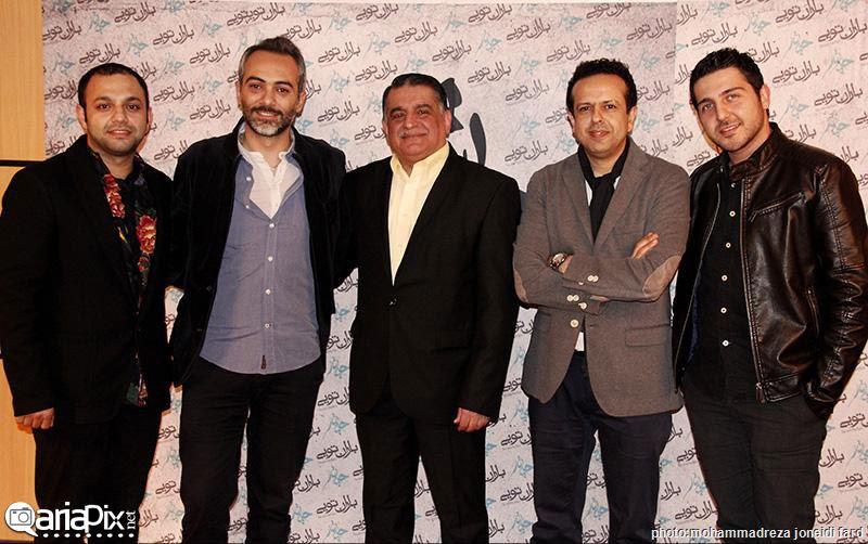 عکسهای کنسرت چارتار با حضور بازیگران