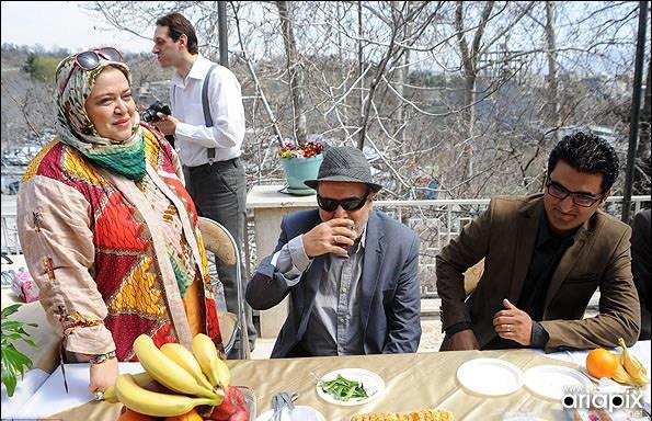 عکسهای جشن پایان تولید سریال چک برگشتی