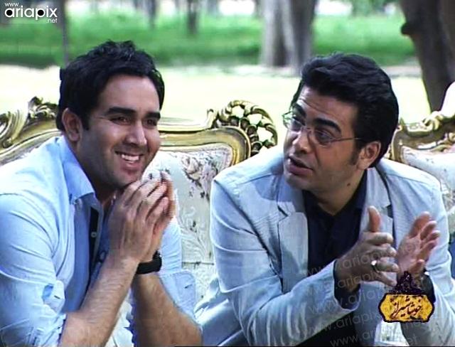 فرزاد حسنی و پوریا پورسرخ در خوشا شیراز