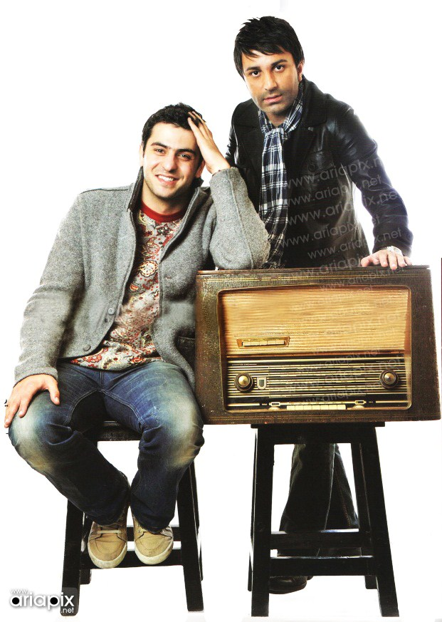 عکس یادگاری علی ضیا و علی لهراسبی