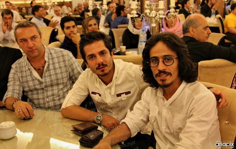 عکسهای افطاری باشگاه هنرمندان