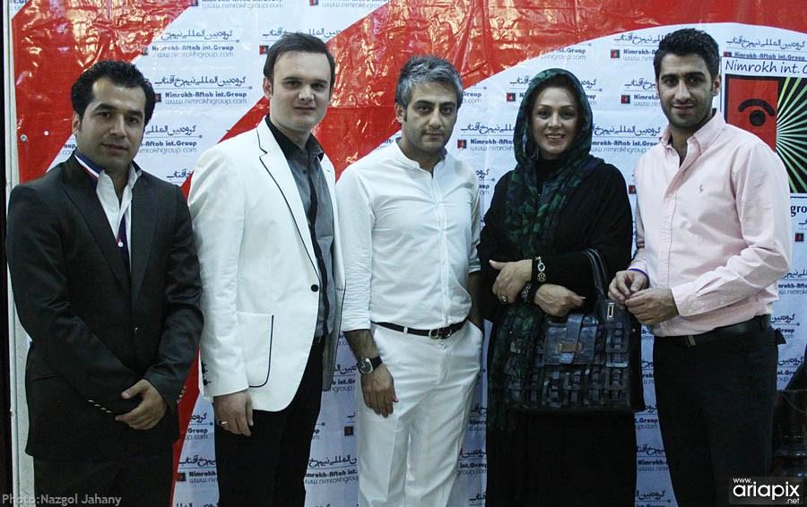کنسرت فرهاد جواهر کلام با حضور بازیگران