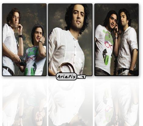 عکسهای جدید از بنیامین با محسن یگانه