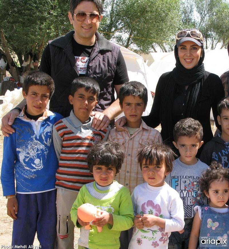 لیلا بلوکات در مناطق زلزله زده آذربایجان شرقی