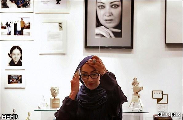 رونمایی از غرفه نیکی کریمی موزه سینما