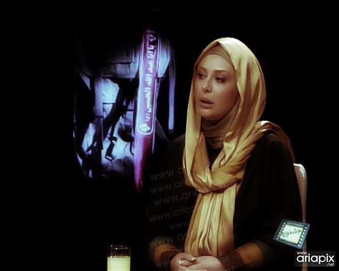 عکس های جدید نیوشا ضیغمی در تلویزیون