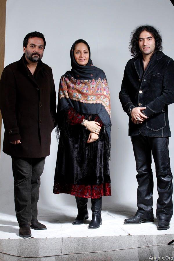 بازیگران در کنسرت روزبه نعمت اللهی ابان 91