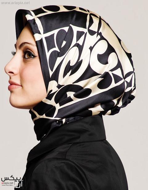 مدل روسری,مدل بستن شال و روسری 2013