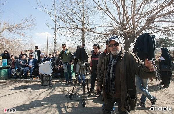 عکسهای پشت صحنه سریال پایتخت 2