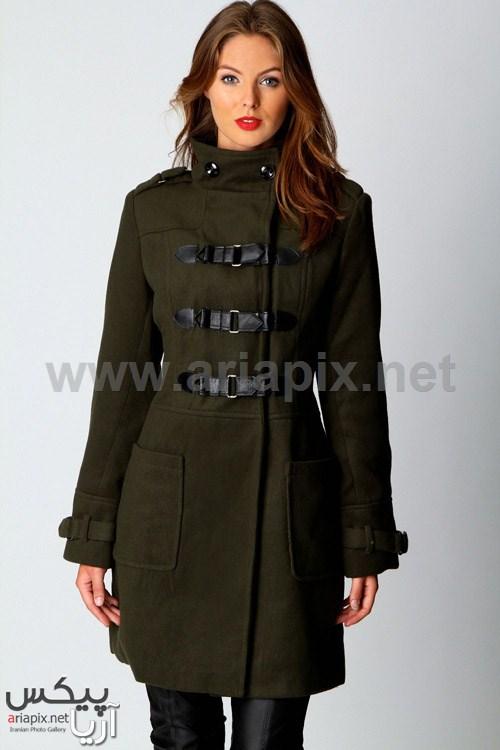 مدل پالتو زنانه مدل پالتو کاپشن زنانه 2013