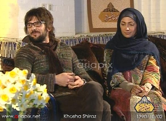 عکسهای امین حیایی و همسرش