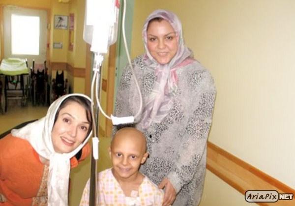 بازدید بازیگران از کودکان سرطانی محک