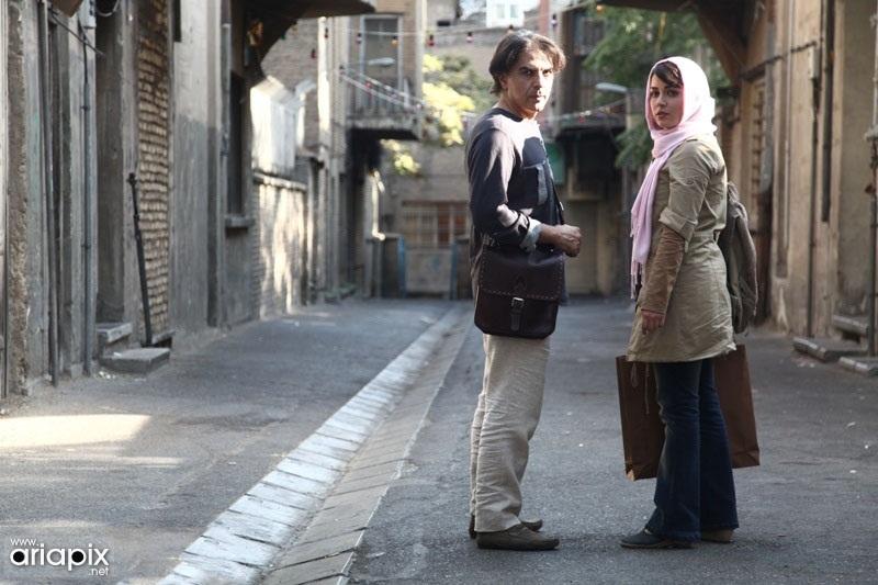 افسانه پاکرو و لادن مستوفی در فیلم چشم